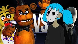 5 НОЧЕЙ С ФРЕДДИ VS КРИПИПАСТА | СУПЕР РЭП БИТВА | 5 Nights At Freddy's ПРОТИВ Creepasta Sally Face