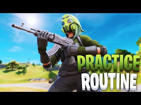 The Best 2 Hour Practice Routine Fortnite | How To Improve Faster