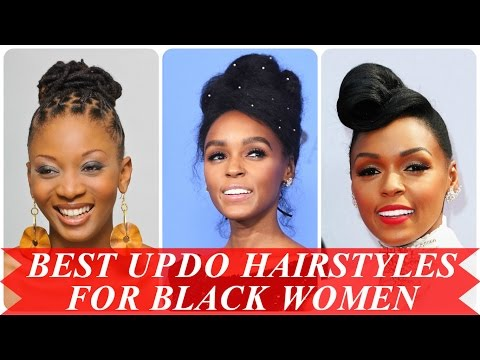 Best updo hairstyles for black women