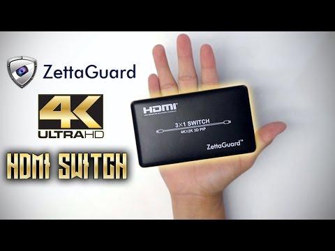 4K HDMI Switch Unboxing (Zettaguard ZW310) - YouTube