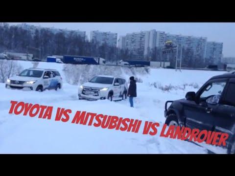 New Toyota Fortuner VS Mitsubishi Pajero Sport VS LandRover Discovery 5 VS Mitsubishi Pajero IV
