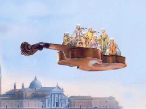A. Vivaldi: Dresden concerto for violin, strings & b.c. in E flat major (RV 260)