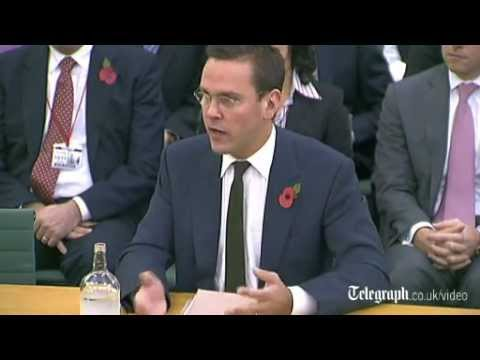 Highlights from James Murdoch's second appearance at the phone hacking Commons inquiry
