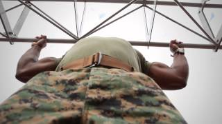 Pull-up transition for physical fitness test