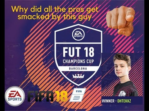 FIFA 18 DhTekKz New Champion 16 years old
