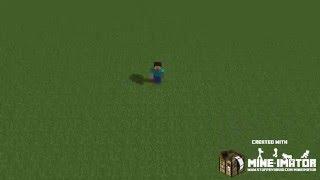 Minecraft Giantess: Growth animation FP test