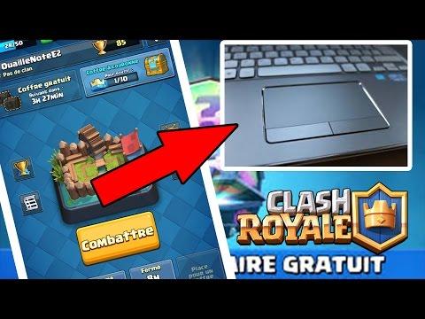 Clash Royale - JOUER A CLASH ROYALE AVEC LE TOUCHPAD !!!!!