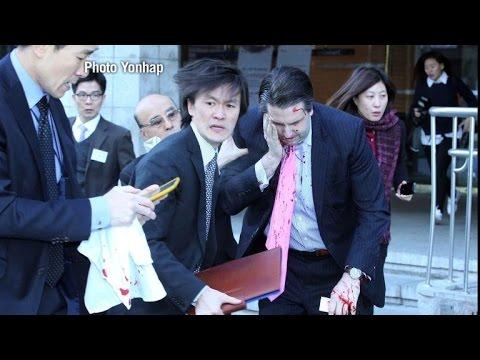 L'ambassadeur américain à Séoul blessé par un nationaliste