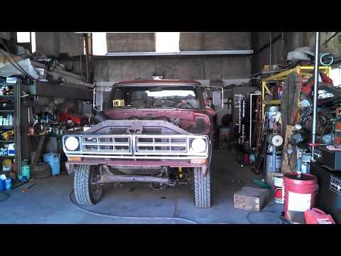 "4BT Cummins 1971 Ford F250  ""Shake Down Cruise"" 1st Drive 1st Video"
