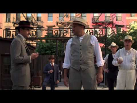 Boardwalk Empire - Lucky Luciano and Meyer Lansky talking with Joe Masseria about heroin bussiness