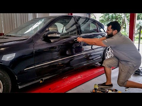My Car Won't Let Me In! - Project Mercedes-Benz S-Class Pt 16