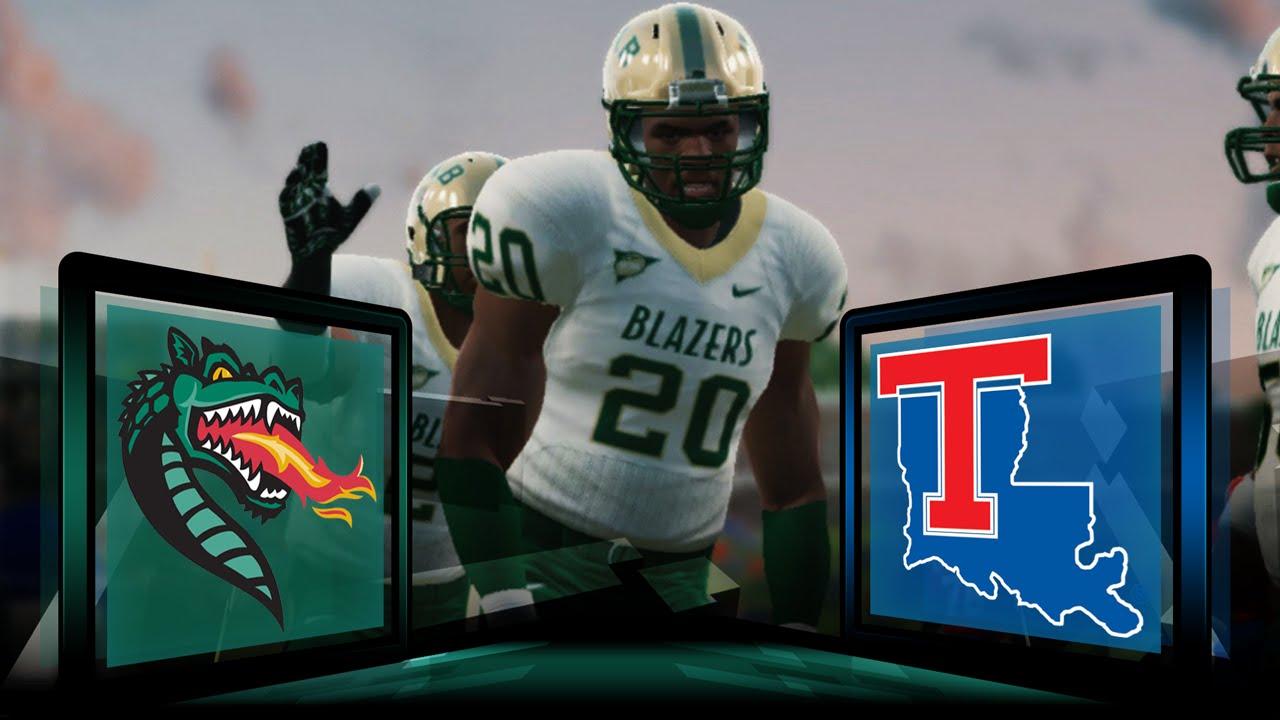 huge selection of f11b9 bf09b NCAA Football 14 UAB Blazers Dynasty- Year 3 Game 5 at Louisiana Tech  Bulldogs