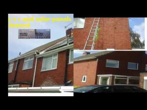 ALL P.V.C. CLEANING INCLUDES ALL Guttering & Down PipeS CLEANED