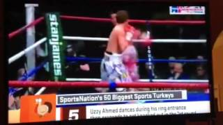 Uzzy The Boxer Gets Knocked Out Bad