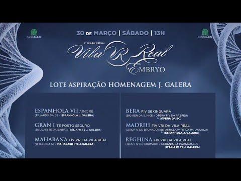 Aspiração - Homenagem J. Galera (mais informações do evento e deste lote na descrição do vídeo)