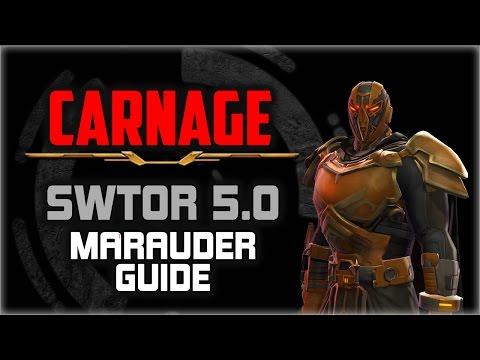 SWTOR 5.0 Marauder CARNAGE ⚔ Guide