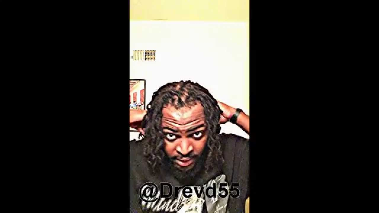 Dreadlock ASAP ROCKY Braidout! - YouTube