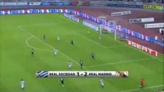 Real Sociedad - Real Madrid [1-2] full highlights 18/09/2010