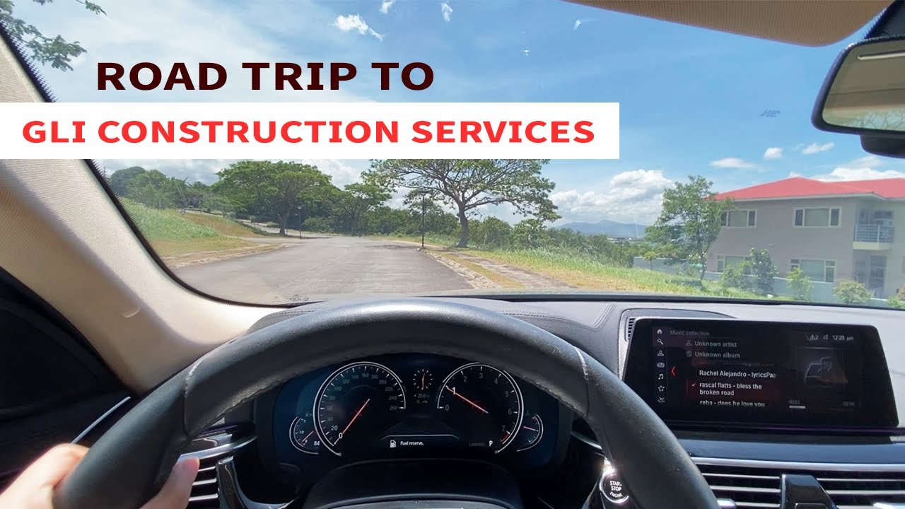 ROAD TRIP: Manila to GLI Construction Services (Laguna)