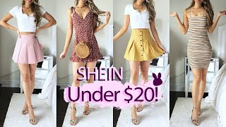 Spring SheIn Try-On Haul & Review (Under $20!)