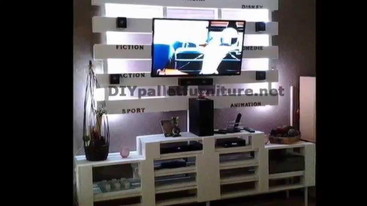 meubles avec palettes meuble en palette