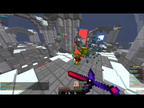 Hacking on Hypixel Skywars with Exhibition (2) [PRIVATE CLIENT]
