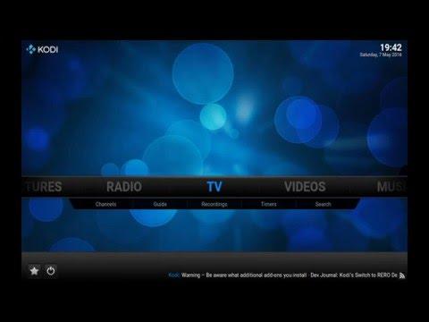 KODi Bulsatcom fusion TV IPTV