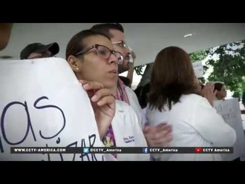 Doctors in Venezuela face medicine shortage