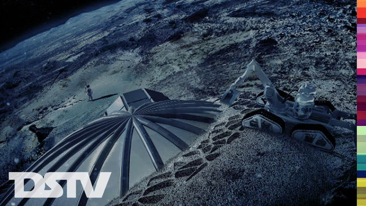 European Space Agency To Build Moon Colony Youtube