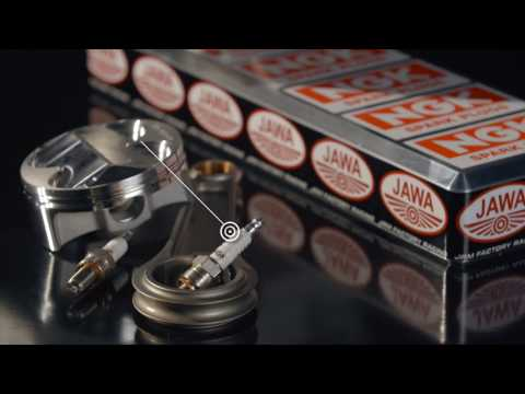 REVOLUTION SPEEDWAY JAWA FACTORY ENGINE SPARKED BY NGK