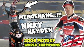 MENGENANG..!!! MANTAN JUARA DUNIA MOTOGP #NICKY_HAYDEN #LAGUNA_SECA - MotoGP 08 INDONESIA [PS2]