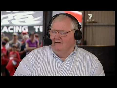 Mike Raymond Visits Channel Seven V8 Coverage Youtube