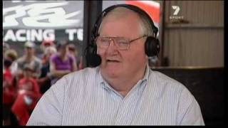 Mike Raymond Visits Channel Seven V8 Coverage