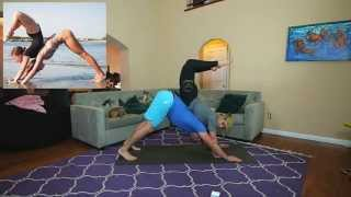 Yoga Challenge(Lesson of the day: don't do headstands around people that can't do headstands. Please subscribe to my channel and my vlog channel! I make new videos here ..., 2015-07-09T11:58:50.000Z)
