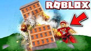 GETTING STRONG and DESTROYING GIANT THINGS in ROBLOX → Universe Destruction Simulator 🎮