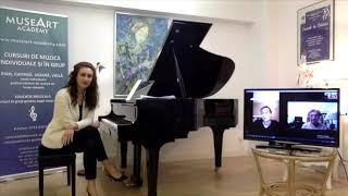#StayAtHome Online Concert #1 - Sinziana Mircea, piano