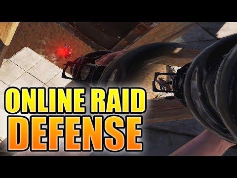 ^ vs Mighty [HUGE ROCKET PROFIT] Rust Online Raid Defense