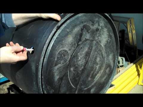Making a Gravity Feed Shower Barrel