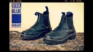 STEEL BLUE Hobart soft toe [ The Boot Guy Reviews ]