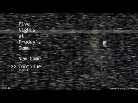 Let's Play!: Five Nights at Freddy's [Demo]