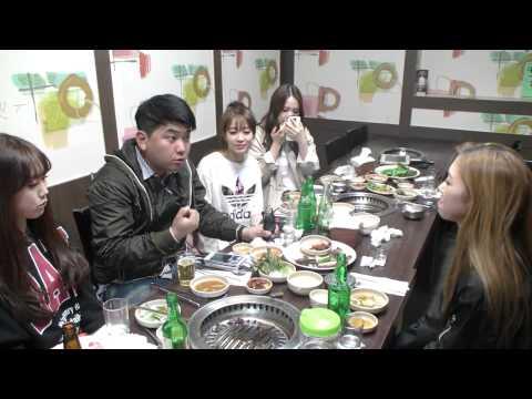 [11] 걸그룹 '블레이디' (Blady)와 함께한 고기 먹방!! - KoonTV