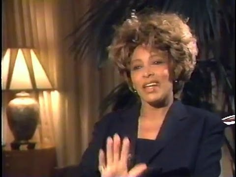 Canadian Tina Turner Interview 1993 - Worldwide release I'Tina the Movie