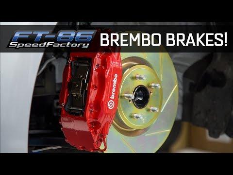 Brembo Brakes Comparison & Install - FT86SpeedFactory