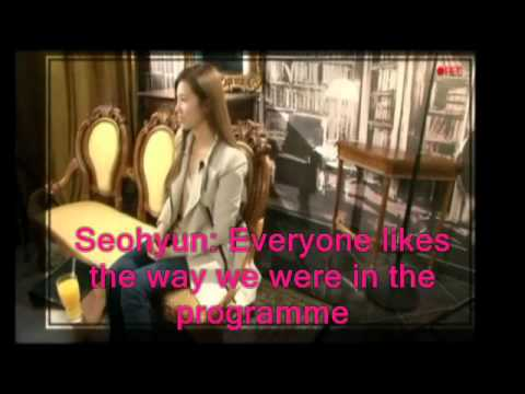 [ENGsub]seohyun talk about Yongseo and recommend L.O.V.E girl