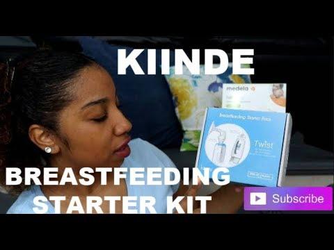 KIINDE Breastfeeding Starter Kit L Unboxing L  Feb 2019 L Free Baby Product