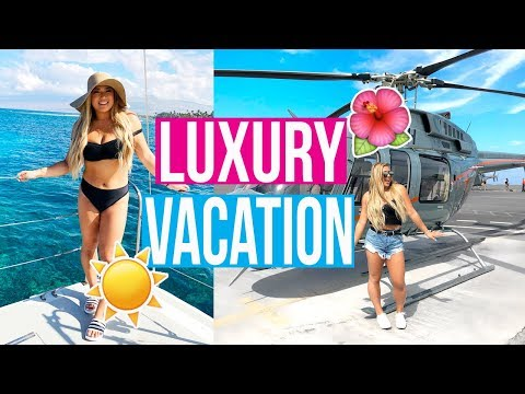 MOST LUXURIOUS VACATION EVER!!