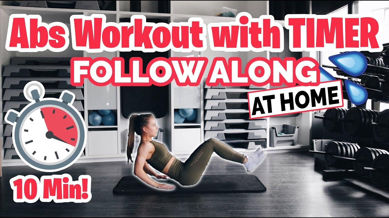 10 Min INTENSE Abs Workout Routine