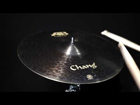 AB Fossil single cymbals sound  Chang Cymbals
