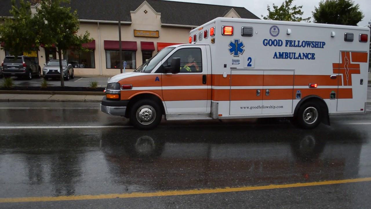 Download Good Fellowship Ambulance 55-2 Responding to MVA 7/21/18