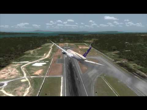 Saudia 777 crash near Phuket Airport